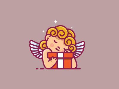 Angel  illustration wings bless gift angel