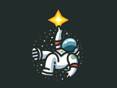 Gravity Habits star planets space astro icon logo gravity
