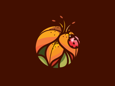 Team Lily Bug bug lily flower leaf nature ladybug