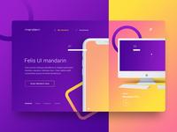 Web UI / UX Design for Mandarin