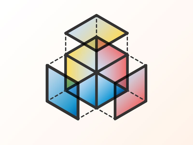 Colour Series primary color primary colour color theory colour color dissected cube colour wheel