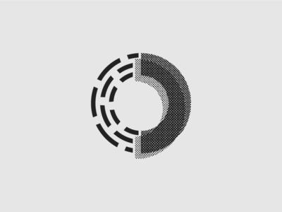 So Magnetic B&W Logo Design