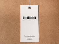Minimal Logo Design for Minimum