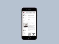 Portfolio v9? Maybe ui animation css grid grid menu mobile ui mobile portfolio design portfolio app branding web design ux ui