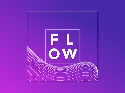 flow flow monday gradient line sketch