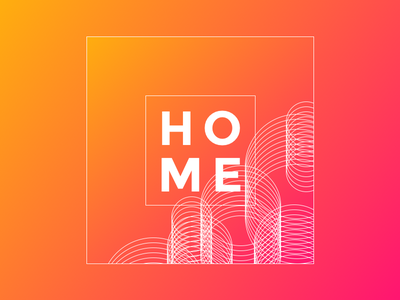 home home sketch gradients lines