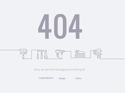 404 page construction builder web error 404