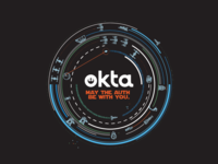 Okta Star Wars Sticker
