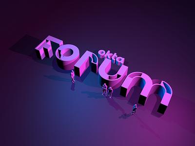3d Forum Experiment okta branding event