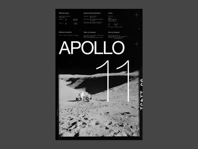 2.7-POSTER 26-Apollo 11 Moon Landing tribute