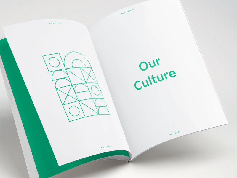 Base employee handbook by kim le dribbble for Employee handbook cover design template