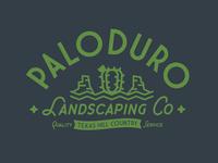 PaloDuro Landscaping Co. - Logo