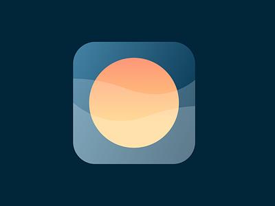 daily ui 005 - app icon sunrise ui dailyui 005 dailyui