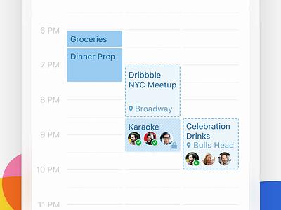 Calendar Colors 🎨 calendar colors mobile outlook design ux apps ui