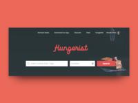 Hungerist Search Concept
