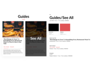 Hungerist web design guide