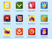 Daily Board - Mini App Icons
