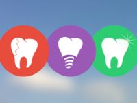 Icons for Dentist website