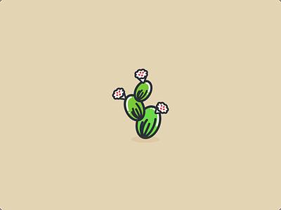 Cactus sketch vector illustration