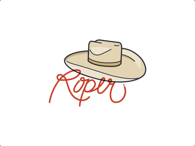 Roper sketch illustration vector
