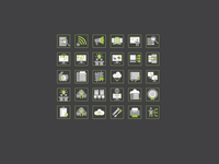 Set of 48px icons