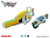 3D - Dreamworks Voltron Baynard Blasters