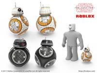 Star Wars BB Friends wireframe
