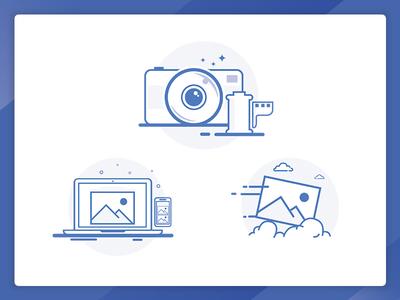 Icons for imagekit.io