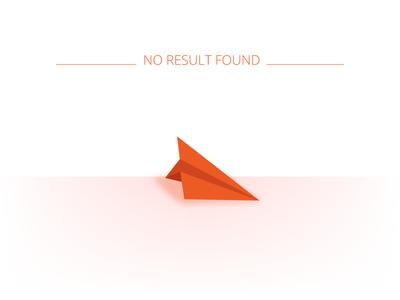 No Result Found