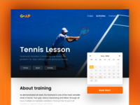 🎾 Tennis Lesson Booking