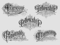 Fellowship Tattoo Parlor concepts