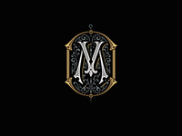 Monogram for Merlins Tattoo studio