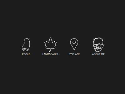 Icons for dad icons svg landscapes pools
