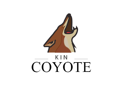 Coyote Branding branding coyote logo band