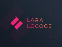 Lara Locoge  |  Graphic Designer Logo