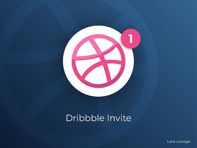 Dribbble Invite illustrator gradient ui vector dribbble invitation dribbble invites dribbble invite dribbble invite