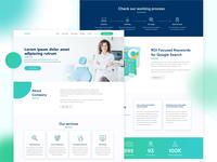 Dental Marketing Web UX/UI Design