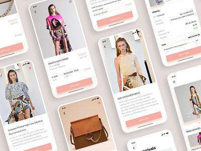 E-commerce Platform Design for Chloé ecommerce fashion app ui ux