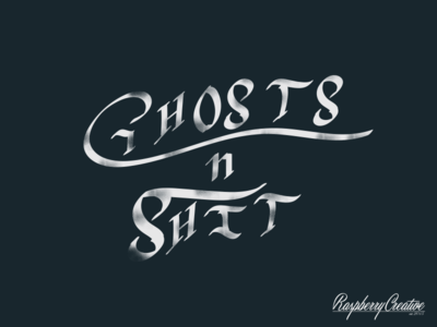Ghosts n Sh*t Gothic Typography