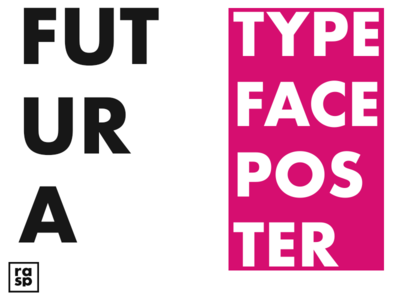 Futura Typeface Poster(see attached)