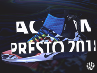 Acronym X Nike Presto Shoe Promo Image