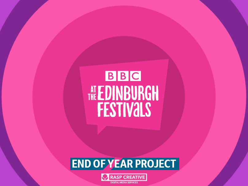 BBC Edinburgh Festival EOY Project motion design motiongraphics illustration branding design