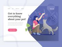 Pet Life Landing Page