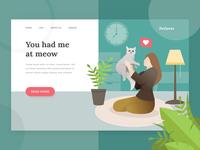 Pet Lover Landing Page