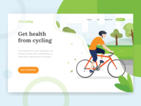 Cycling Landing Page