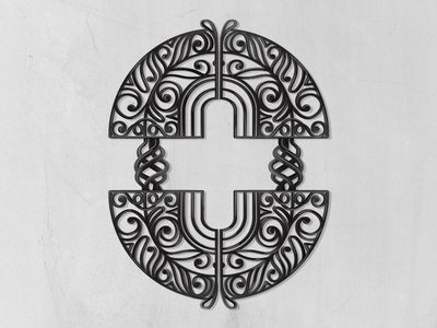 36 Days of Type_0 colourless gate wrought iron victorian illustratedtype handlettering lettering typography type 36daysoftype 36days-a