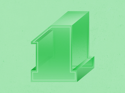 36 Days of Type - 1 clean fresh green graphicdesign illustratedtype handlettering lettering typography type 36daysoftype 36days-a