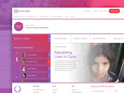 Donation Website