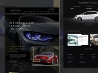 Car Leasing Premium Website