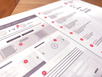 Wireframes Planning Ux